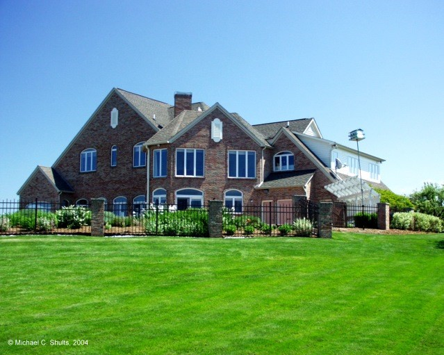 Another lakefront home at Lakewood Estates, near Rochester NY
